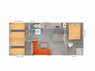 mobil-home 35m²