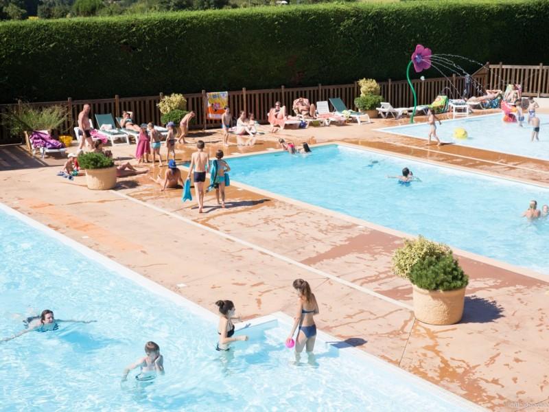 piscine chauffée en basse saison