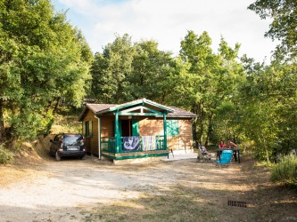 chalet nature camping