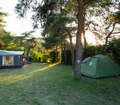 emplacement camping nature