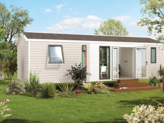 mobil-home 6 personnes drome camping