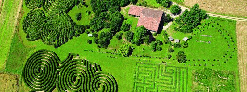 Les labyrinthes d'Hauterives
