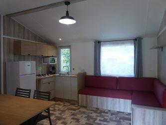 salon cuisine mobil home
