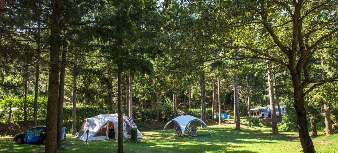 emplacement de camping drôme