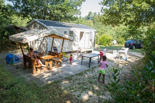 camping nature drôme locations
