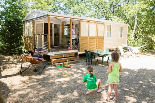 mobilhome 6 personnes drome camping