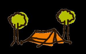 emplacements de camping